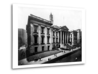 County Court House on Chambers Street NYC Photo - New York, NY-Lantern Press-Metal Print