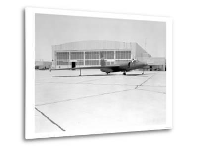 U-2 Spy Plane With Fictitious NASA Markings Photograph - Edwards AFB, CA-Lantern Press-Metal Print