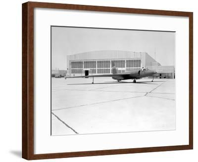 U-2 Spy Plane With Fictitious NASA Markings Photograph - Edwards AFB, CA-Lantern Press-Framed Art Print