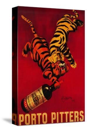 Porto Pitters Vintage Poster - Europe-Lantern Press-Stretched Canvas Print