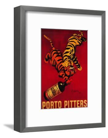 Porto Pitters Vintage Poster - Europe-Lantern Press-Framed Art Print