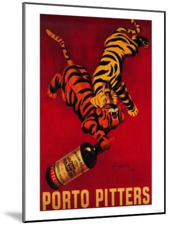 Porto Pitters Vintage Poster - Europe-Lantern Press-Mounted Art Print