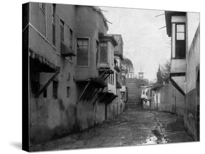 Street Scene in Damascus Photograph - Damascus, Syria-Lantern Press-Stretched Canvas Print