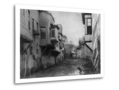 Street Scene in Damascus Photograph - Damascus, Syria-Lantern Press-Metal Print