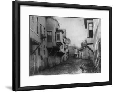 Street Scene in Damascus Photograph - Damascus, Syria-Lantern Press-Framed Art Print