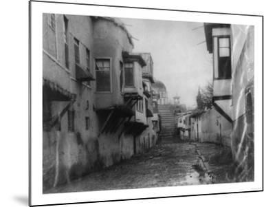 Street Scene in Damascus Photograph - Damascus, Syria-Lantern Press-Mounted Art Print