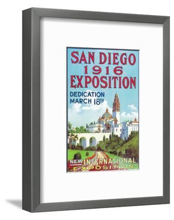 San Diego International Exposition Poster - San Diego, CA-Lantern Press-Framed Art Print