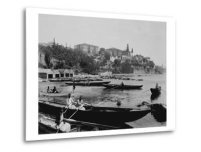 Port of Salacak in Uskudar Photograph - Istanbul, Turkey-Lantern Press-Metal Print