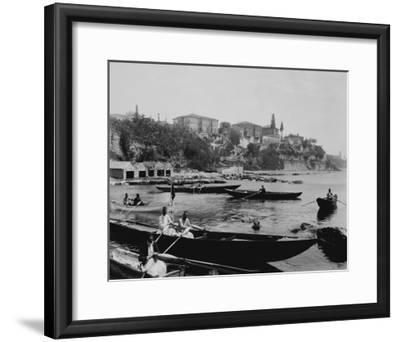 Port of Salacak in Uskudar Photograph - Istanbul, Turkey-Lantern Press-Framed Art Print