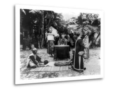 Vietnamese Ceremony Photograph - Ho Chi Minh City, Vietnam-Lantern Press-Metal Print