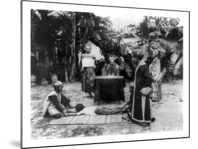 Vietnamese Ceremony Photograph - Ho Chi Minh City, Vietnam-Lantern Press-Mounted Art Print