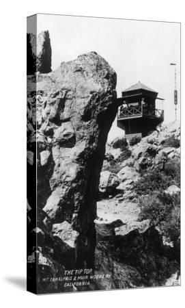 View of the Summit of Mt. Tamalpais - Mt. Tamalpais, CA-Lantern Press-Stretched Canvas Print