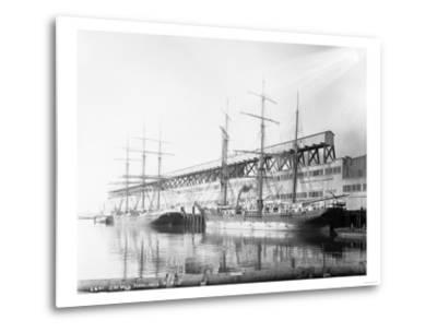 East Waterways Terminals Photograph - Seattle, WA-Lantern Press-Metal Print