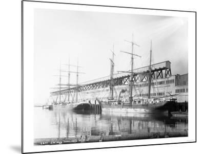 East Waterways Terminals Photograph - Seattle, WA-Lantern Press-Mounted Art Print