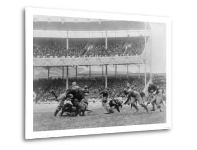 Army Navy Game at Polo Grounds Photograph - New York, NY-Lantern Press-Metal Print