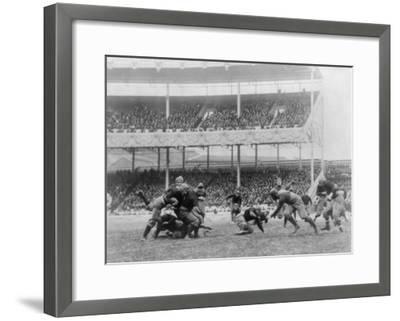 Army Navy Game at Polo Grounds Photograph - New York, NY-Lantern Press-Framed Art Print