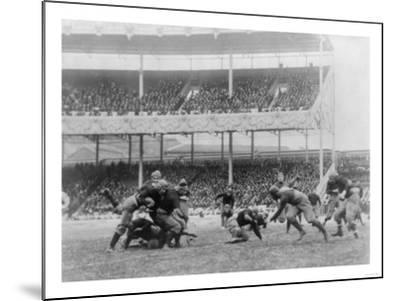 Army Navy Game at Polo Grounds Photograph - New York, NY-Lantern Press-Mounted Art Print