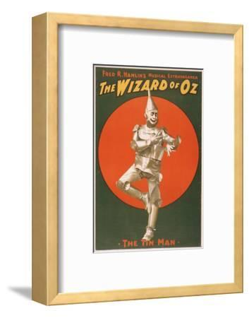 """""""The Wizard of Oz"""" Musical Theatre Poster No.2-Lantern Press-Framed Art Print"""
