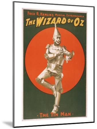 """""""The Wizard of Oz"""" Musical Theatre Poster No.2-Lantern Press-Mounted Art Print"""