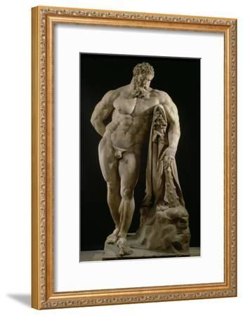 The Farnese Hercules, Roman Copy of Greek Original-Lysippos-Framed Giclee Print
