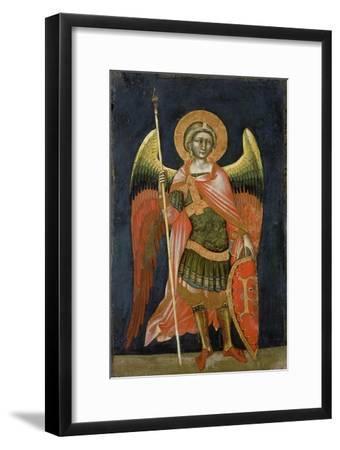 Warrior Angel, 1348-54-Ridolfo di Arpo Guariento-Framed Giclee Print