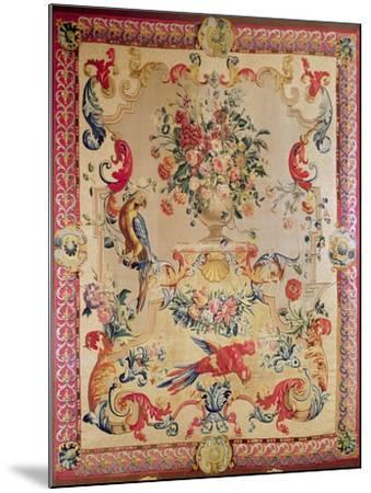 Tapestry in Early Rococo Style with Strapwork and Acanthus Leaves by Joshua Morris, 1720s--Mounted Giclee Print
