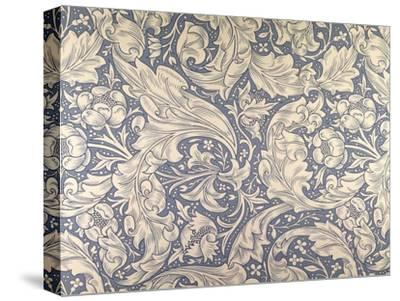 Daisy Design-William Morris-Stretched Canvas Print