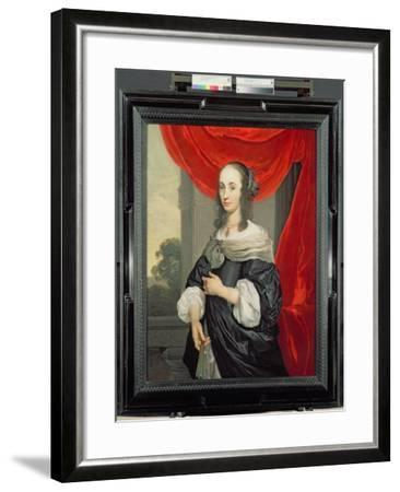 Portrait of a Lady-Louis-Michel van Loo-Framed Giclee Print