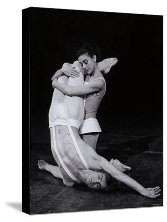 Rudolf Nureyev and Margot Fonteyn in Paradise Lost, England-Anthony Crickmay-Stretched Canvas Print
