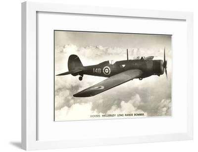 Vickers Wellesley Bomber--Framed Art Print