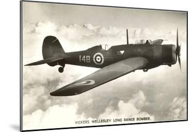Vickers Wellesley Bomber--Mounted Art Print