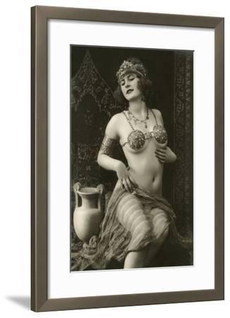 Belly Dancer--Framed Art Print