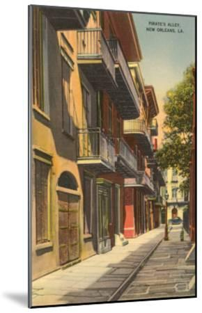 Pirates' Alley, New Orleans, Louisiana--Mounted Art Print