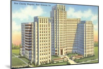 Charity Hospital, New Orleans, Louisiana--Mounted Art Print