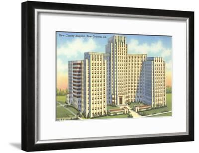 Charity Hospital, New Orleans, Louisiana--Framed Art Print