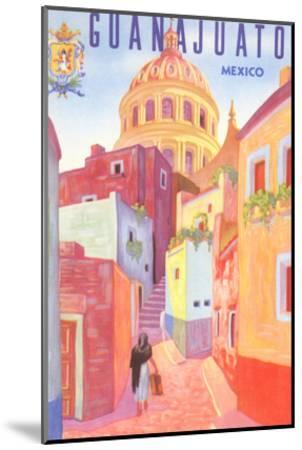 Poster for Guanajuato, Mexico, Colonial Streets--Mounted Art Print