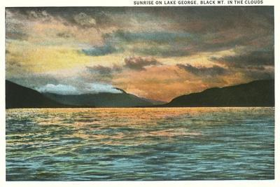 Lake George, New York--Stretched Canvas Print