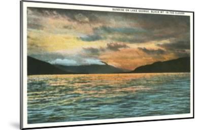 Lake George, New York--Mounted Art Print