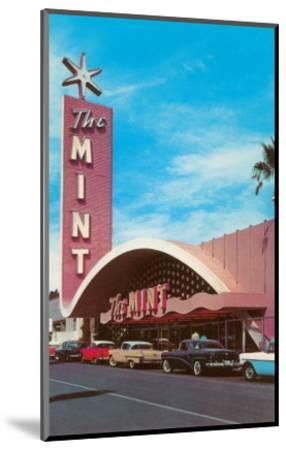 The Mint Hotel, Las Vegas, Nevada--Mounted Art Print