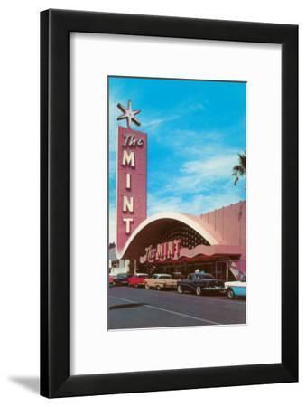 The Mint Hotel, Las Vegas, Nevada--Framed Art Print