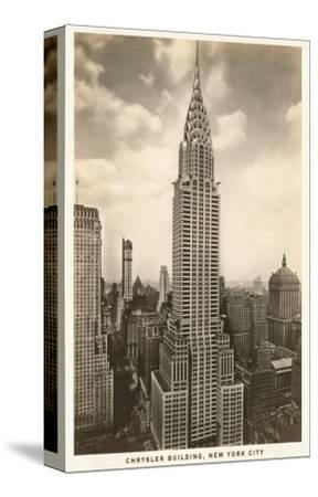 Chrysler Building, New York City--Stretched Canvas Print