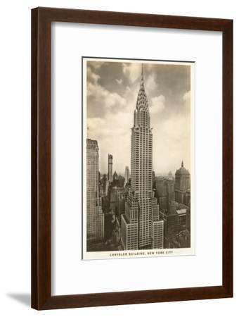 Chrysler Building, New York City--Framed Art Print