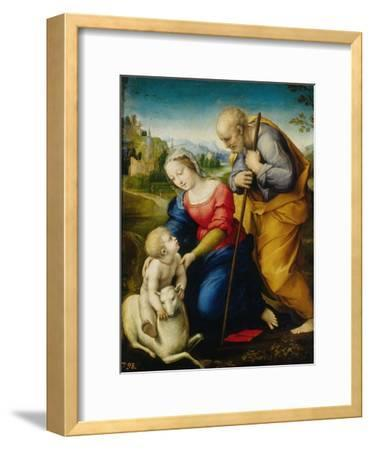 Holy Family of the Cordero-Raphael-Framed Giclee Print