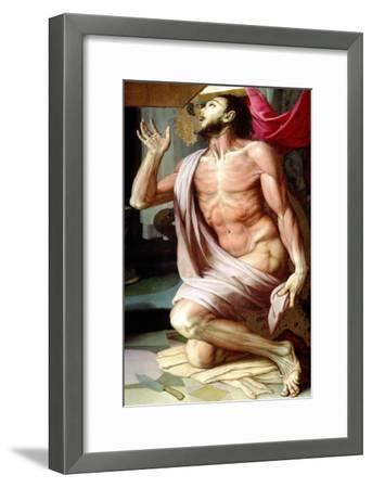 Saint Bartholomew-Agnolo Bronzino-Framed Giclee Print