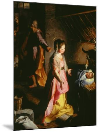 Nativity-Federico Barocci-Mounted Giclee Print