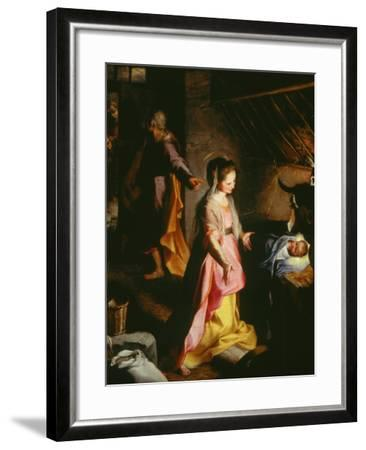 Nativity-Federico Barocci-Framed Giclee Print