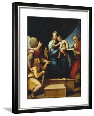 Madonna Del Pesce-Raphael-Framed Giclee Print