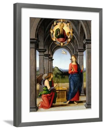 Annunciation-Pietro Perugino-Framed Giclee Print