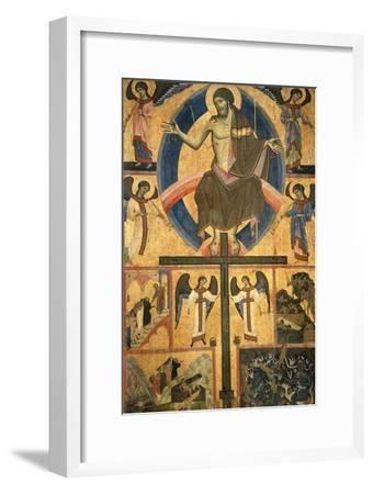 Last Judgment-Guido Di Graziano Da Siena-Framed Giclee Print