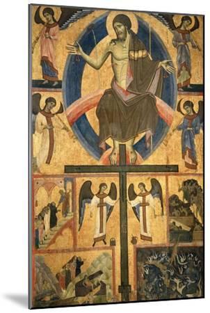Last Judgment-Guido Di Graziano Da Siena-Mounted Giclee Print